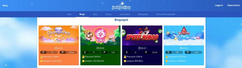 bingo hos jackpotjoy