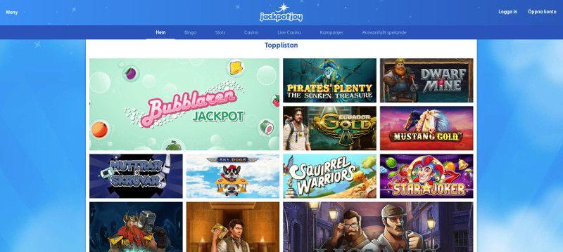 jackpotjoy screenshot