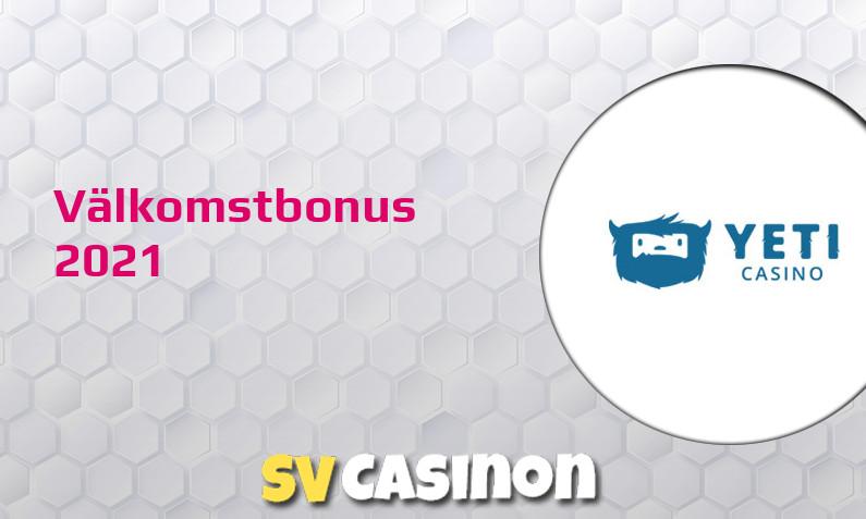 Ny bonus från Yeti Casino